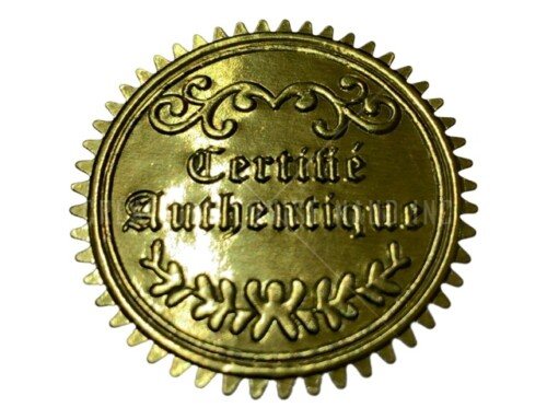 Certifié Authentique